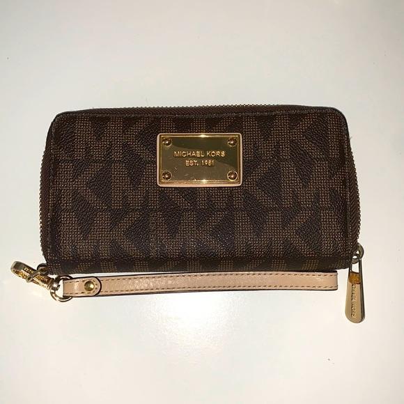 Michael Kors Dark Brown Wallet